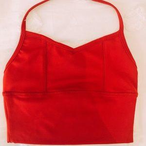 Five Dancewear Red Halter Top